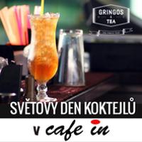 akce svetovy den koktejlu v cafe in usti nad labem