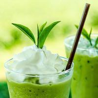 koktejl zelený čaj Matcha