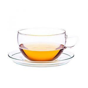 Jumbo Skleněný šálek na čaj Kiran 400ml
