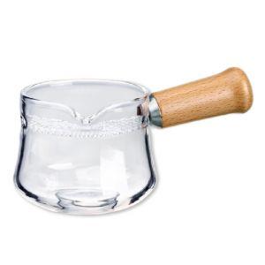 Skleněný džbánek s filtrem - slíváček